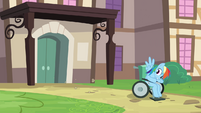 Rainbow Dash Hospital Discharge 4 S2E16
