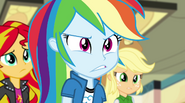 Rainbow Dash worried expression EG2