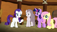 "Rarity ""doesn't matter how good you are!"" S8E18"