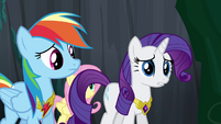 Rarity objecting S4E02