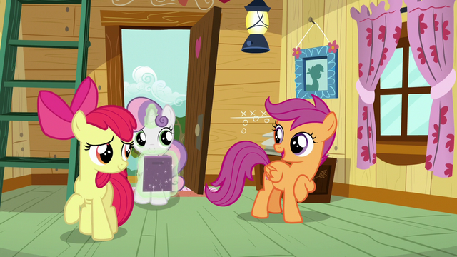 "File:Scootaloo ""not a bad way to start a day"" S7E6.png"