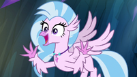 "Silverstream ""with lots of artwork"" S9E3"