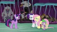 Spike -what do we do, Twilight-- S8E26