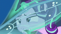 Starlight Changeling sees through changeling's wing S7E1