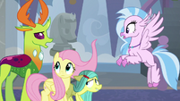 Thorax appears before Silverstream S8E1