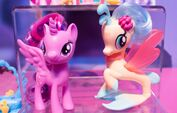 Toy Fair 2017 - Princess Twilight and Princess Skystar display