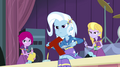 Trixie and friends glaring at Sunset EG2.png