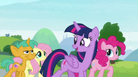 "Twilight ""between her school and ours!"" S9E15"