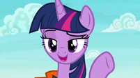 "Twilight Sparkle ""bubbles followed by a swell"" S6E22"