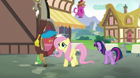 Twilight Sparkle hanging her head S5E22