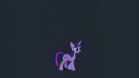 Twilight Sparkle walking in the dark S7E2
