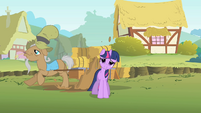 Twilight splashed by Mr. Greenhooves S01E15