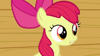 Apple Bloom --maybe we can only help ponies-- S6E19