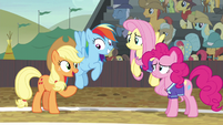 Applejack --it doesn't matter if you win or not-- S6E18