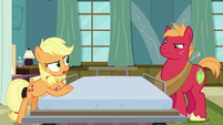 Applejack --you'd just ramble on and on-- S6E23