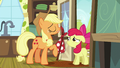 Applejack says she has to go to Manehattan S5E17.png