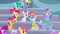 "Bow Hothoof ""if Rainbow Dash isn't a Wonderbolt"" S7E7"