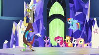 Discord --did I get the tiniest bit of glee-- S5E22