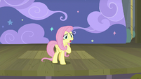 "Fluttershy ""suffering terrible hardship"" S8E7"
