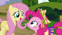 Fluttershy 'thanks, Pinkie Pie' S4E10
