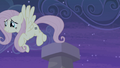 Fluttershy leaves the chimney S5E02.png