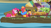 Pinkie '...the parachute will open' S4E09