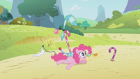 Pinkie Pie's contraption crash S1E05