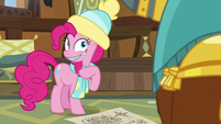 Pinkie Pie's lips are literally sealed MLPBGE