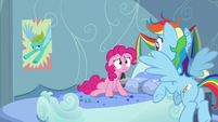 "Pinkie Pie asking ""where'd it go?!"" S7E23"