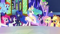 "Princess Celestia ""what we've missed out on"" S9E13"