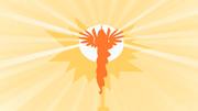 Princess Celestia raises the sun S1E23
