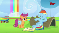 "Rainbow Dash ""yeah, right!"" S7E7"