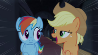 Rainbow and Applejack -only the most daring pony- S4E03