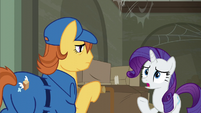 "Rarity ""it's completely disorganized!"" S6E9"