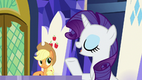 Rarity -sounds fabulous- S7E14