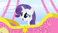 Rarity apologizing to Princess Celestia S1E16