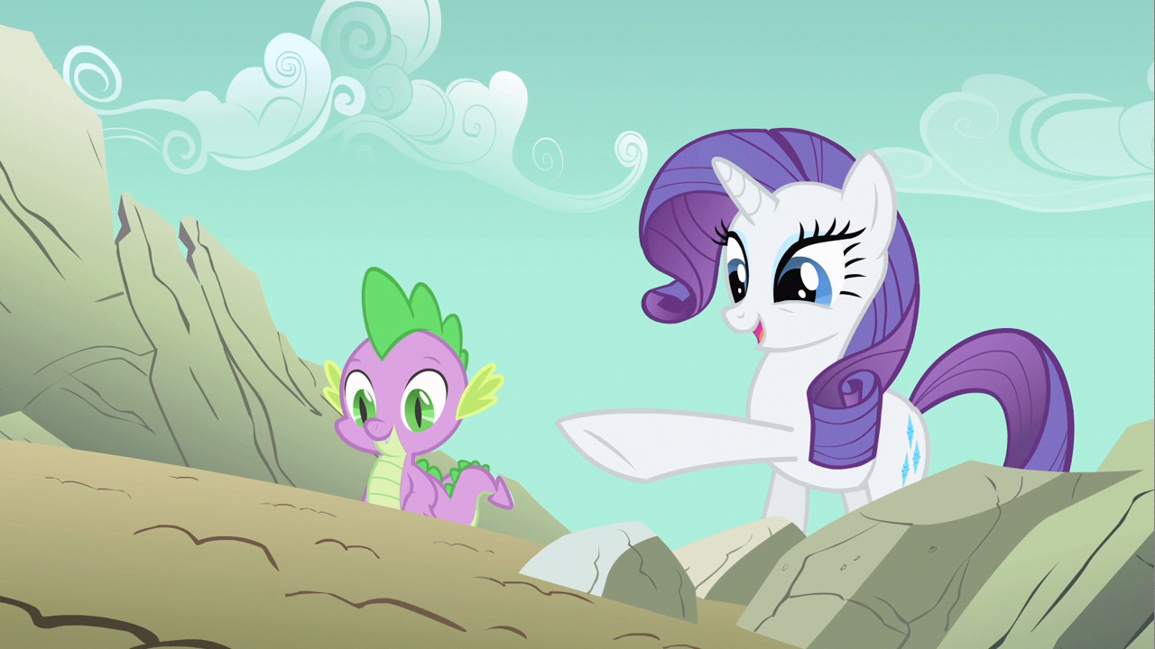 Image - Rarity yes Spike S1E19.png | My Little Pony ...