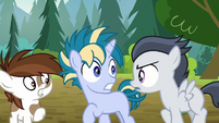 "Rumble ""you'll be stuck doing it forever!"" S7E21"