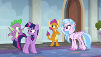"Spike ""did you hear anything?"" S8E16"