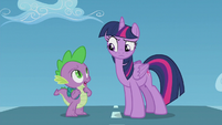 Spike --isn't that Rainbow Dash--- S5E25