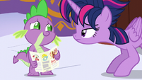 Spike acting nervous -yup- S5E3