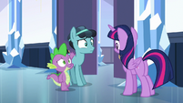 Spike introducing Thorax as --Crystal Hoof-- S6E16