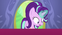 Starlight Glimmer surprised by her present S7E1