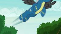 Thunderlane takes off at high speed S7E21