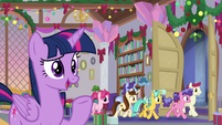 "Twilight ""those of you traveling outside Equestria"" S8E16"