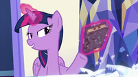 "Twilight Sparkle ""Star Swirl took a lot of notes"" S7E25"