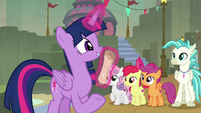 "Twilight Sparkle ""get this form signed"" S8E6"