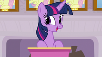 Twilight Sparkle -next item of business- S8E9