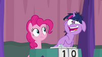 Twilight Sparkle laughing very crazily S9E16