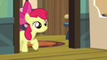 Apple Bloom cautiously enters the kitchen S5E4.png